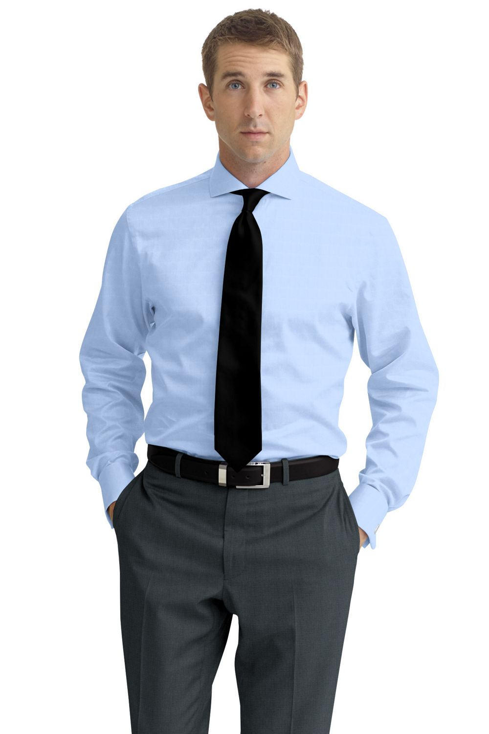 The Crisp Light Blue Dress Shirt Christopher Cuozzo
